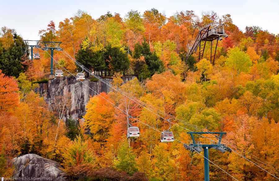Mount Tremblant in fall season