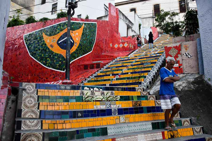Cool Lapa steps in Rio