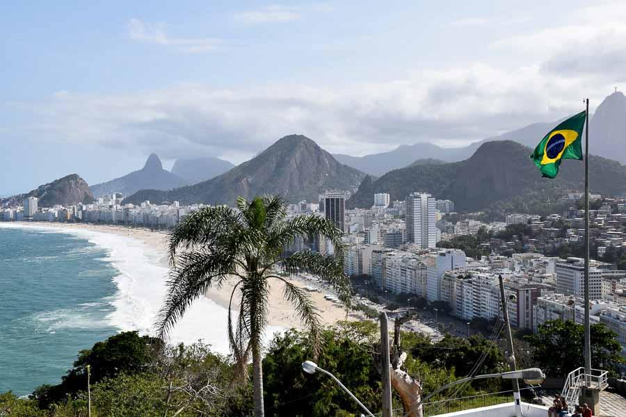 copacabana beach areas of Rio