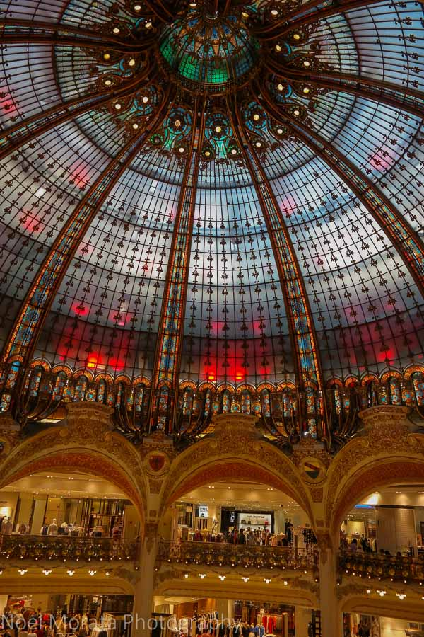 Free views from the Galleries Lafayette in Paris