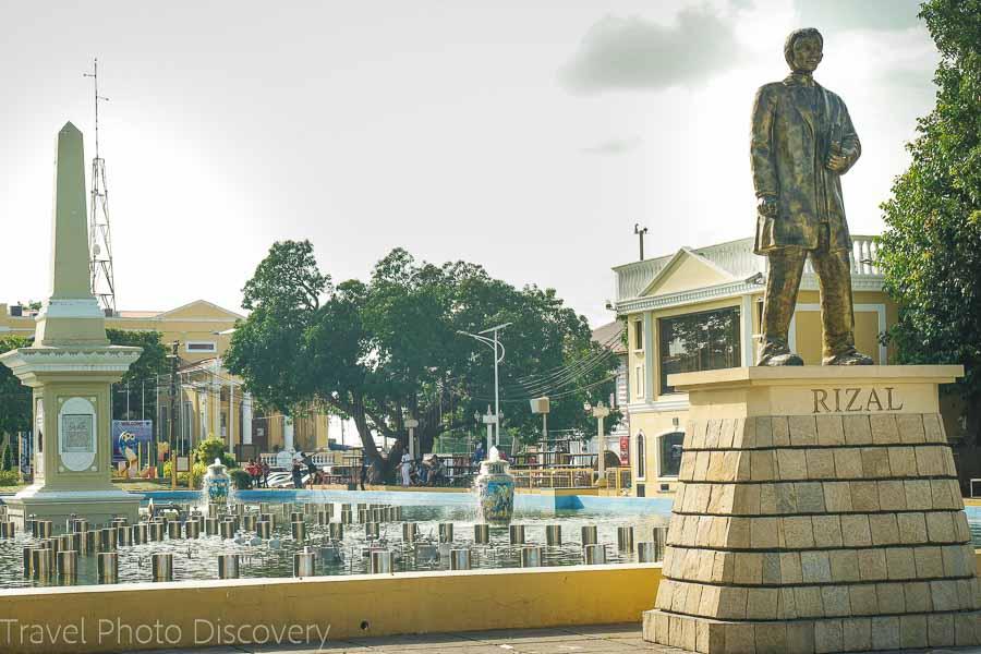 Plaza Salcedo In Vigan City