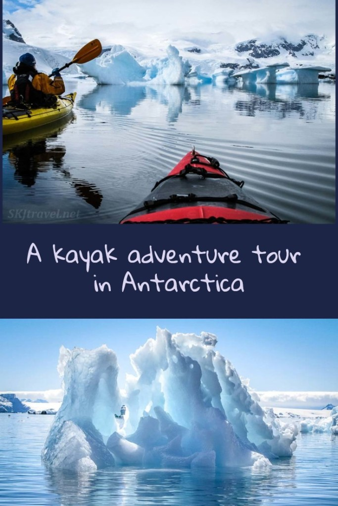 Kayak adventure tour in Antarctica