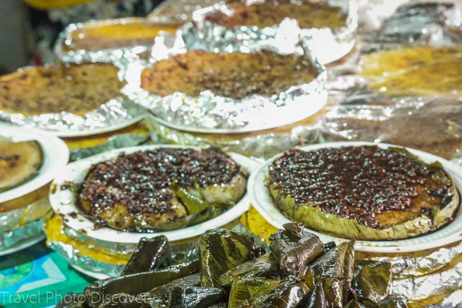 local food specialties at Vigan City