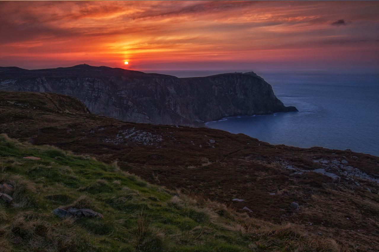 Image result for Irish coastline sunset pictures
