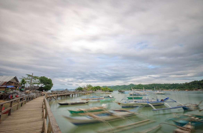 The boardwalk at Cabigsing/Sitio Tandul, El Nido