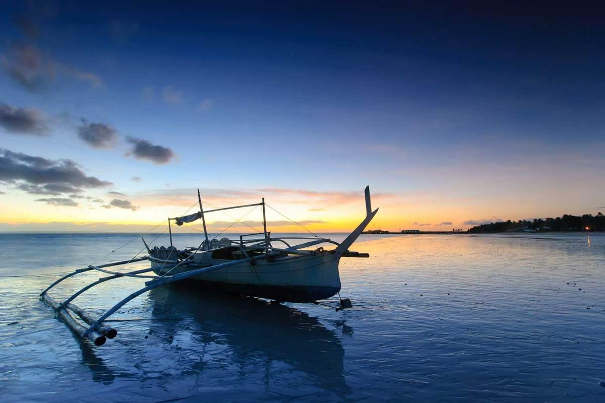 Daybreak at Alice Beach, Bantayan Island