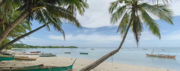 Beach along Obo-ob Marikaban Road Bantayan Island