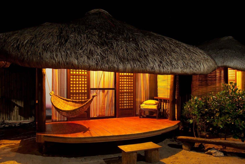 Casa Consuelo's cozy cabana