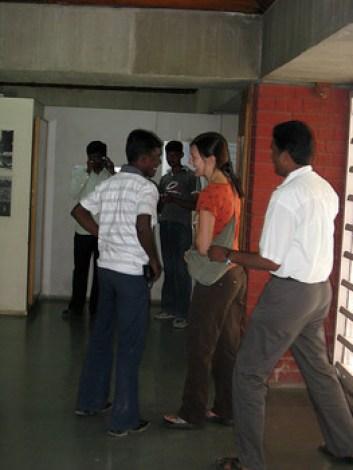Gandhi's ashram in Ahmedabad, India