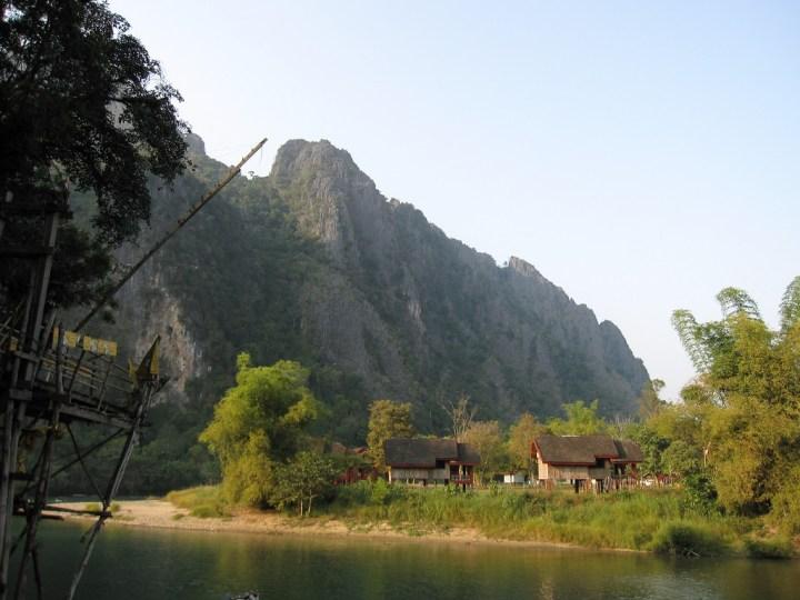 Limestone Karsts in Vang Vieng