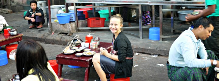 street food in mandalay