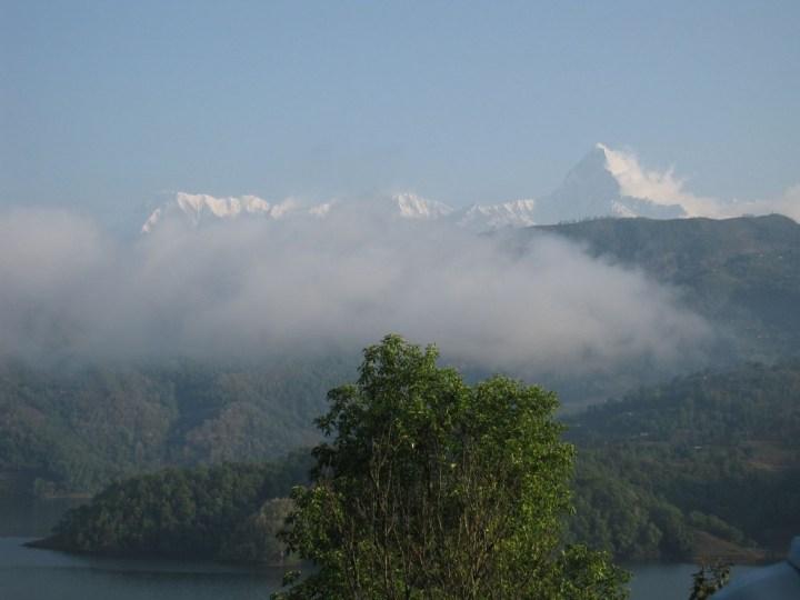 Machapuchare and Begnas Lake