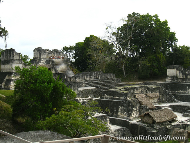 The Living Quaters at Tikal