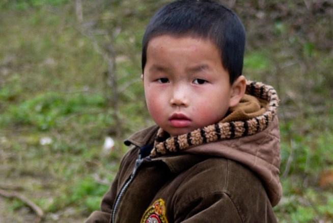 Small Chinese boy, Yangshuo, China