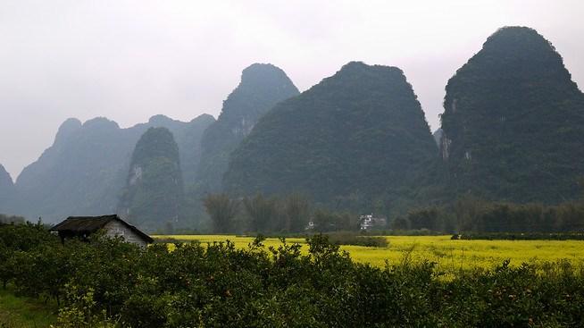 Karst Rocks, Yangshuo, China.