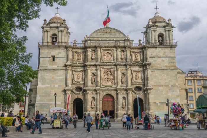 Zocalo Oaxaca City, Mexico