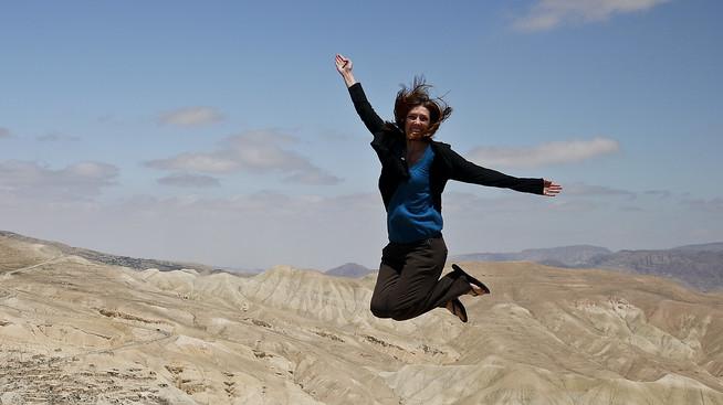Desert sands in Jordan