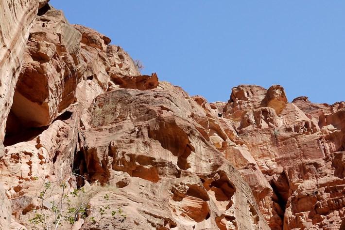 Rose-red rocks, Petra Jordan facts