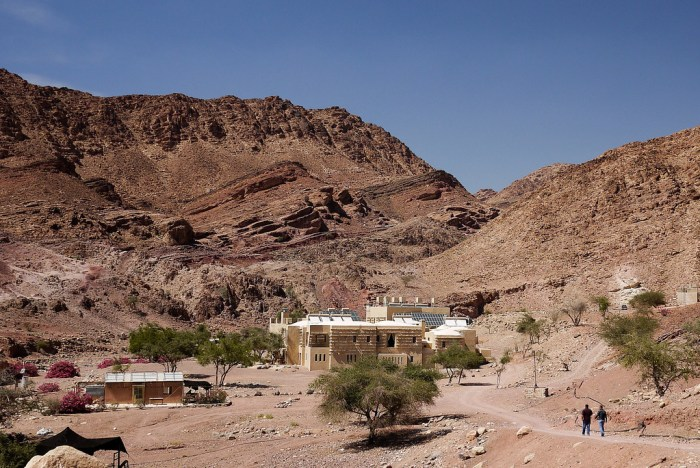 The Feynan EcoLodge in Wadi Feynan, Jordan