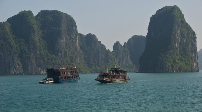 Hanoi Bay in Vietnam