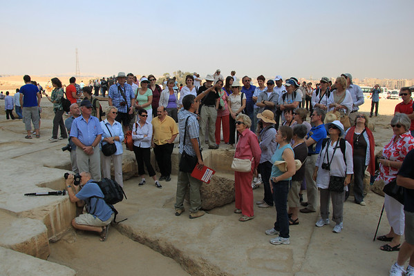 Cosmos Tour Group - Giza Egypt 2010
