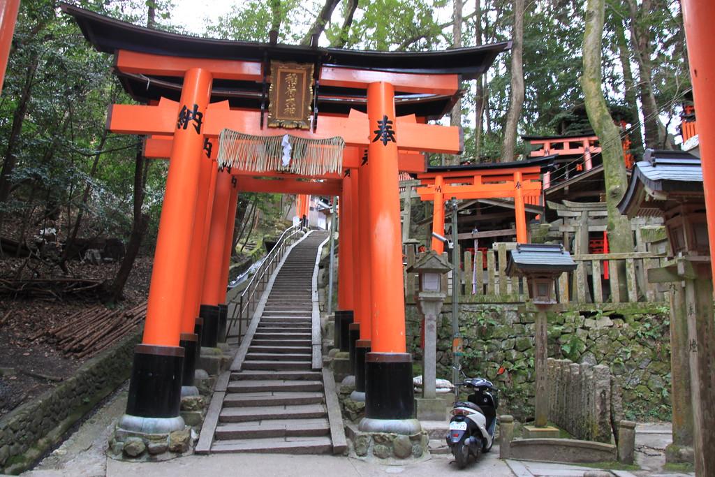 Fox Shrine Torii Gates – Kyoto, Japan – Photo