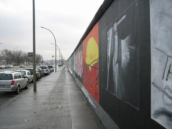 Berlin Wall, East Side Gallery