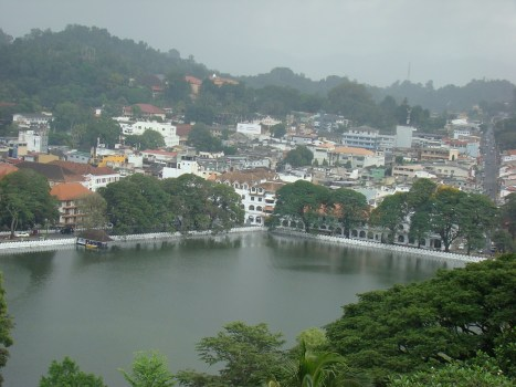 View of Kandy from Hill Top