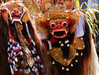 Rangda, The Evil Spirit & Barong, The Good Spirit