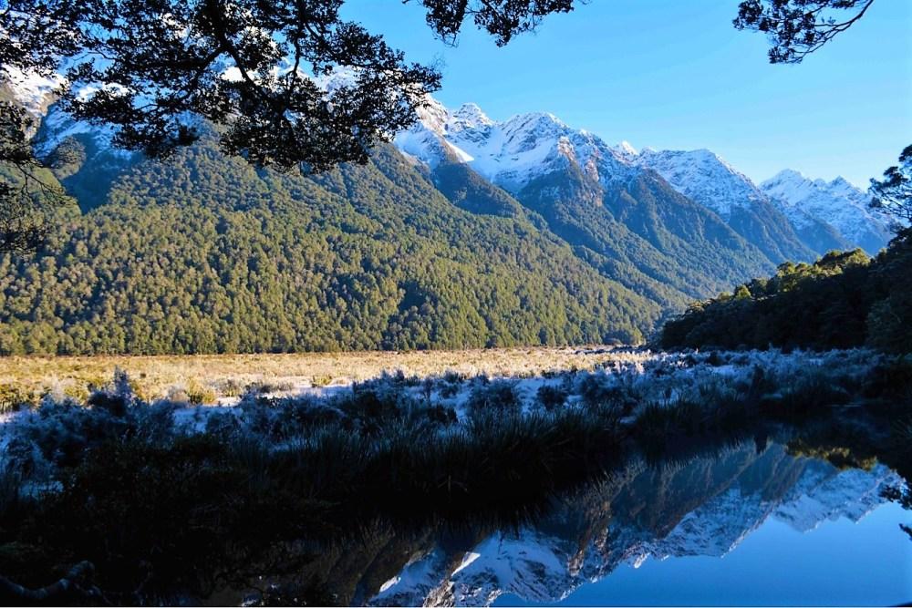 Mirror Lakes; Fiordland National Park