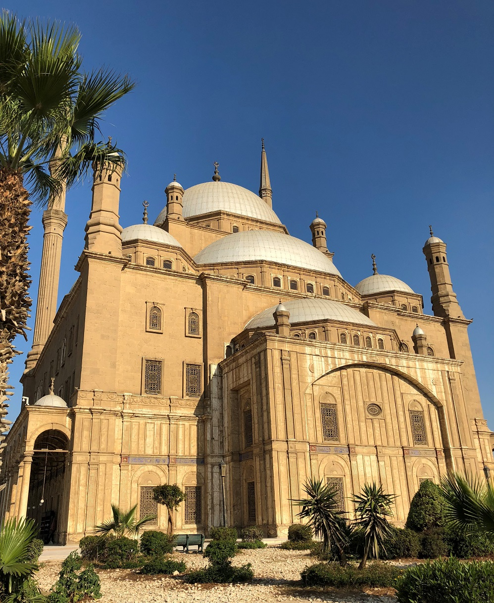 Blue Mosque in Citadel of Saladin, Cairo
