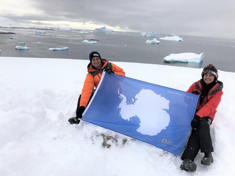 Antarctica Mainland Landing