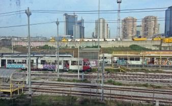 Circumvesuviana train Naples - Pompeii (4)