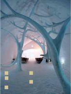 Ice Hotel in Quebec, Cananda