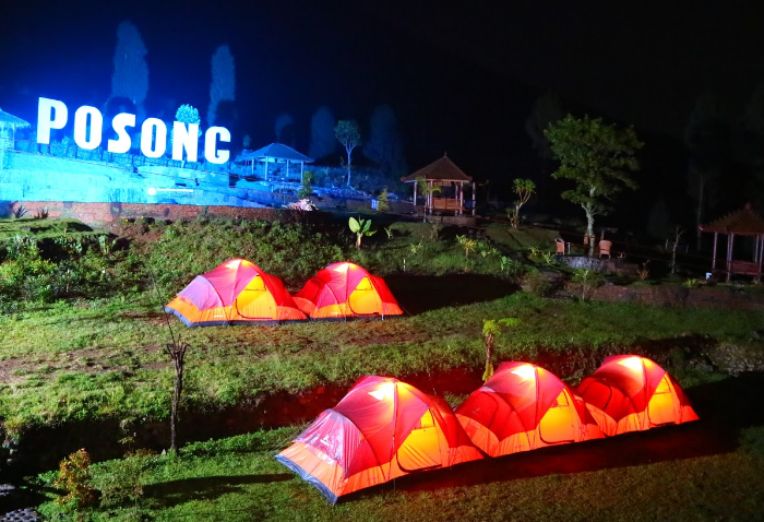 campground posong Lembah Sindoro Posong