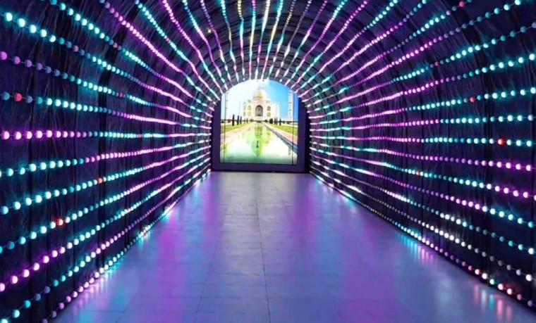 harga tiket night paradise malang tunnel light