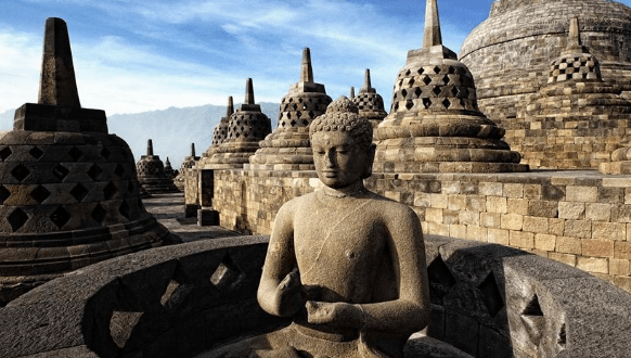 Harga tiket masuk Borobudur