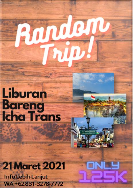 Random Trip, Liburan Bareng Ke Jogja Bersama Icha Trans
