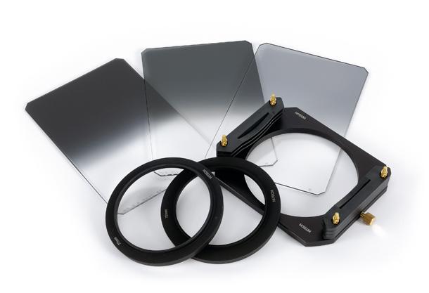 hitech neutral graduation graduation filters kit on white