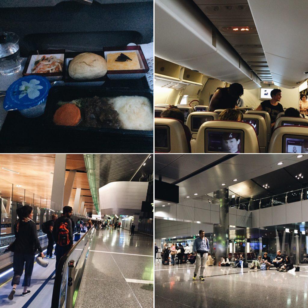 Chuyến bay HN - Doha - CDG