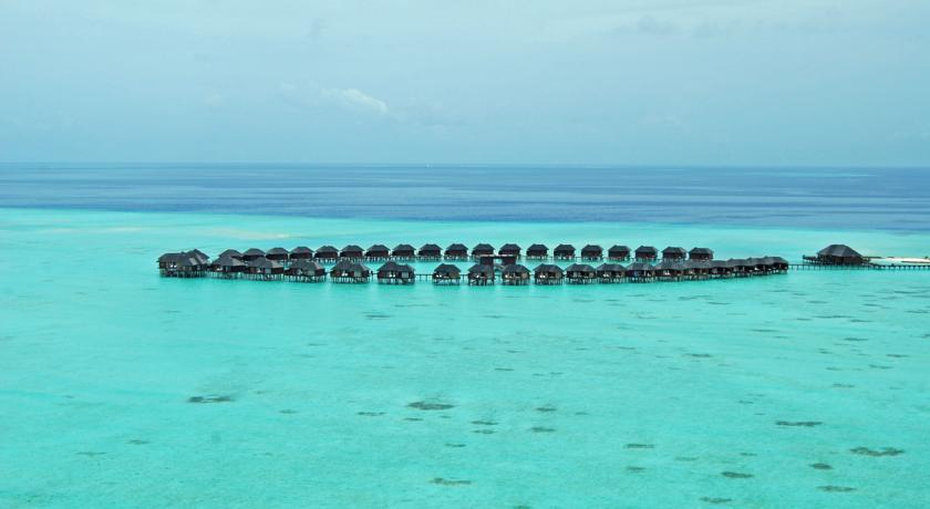 Olhuveli Resort nhìn từ trên cao