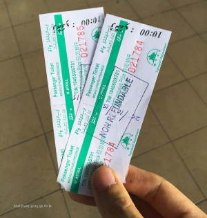 Ferry ticket-Maldives