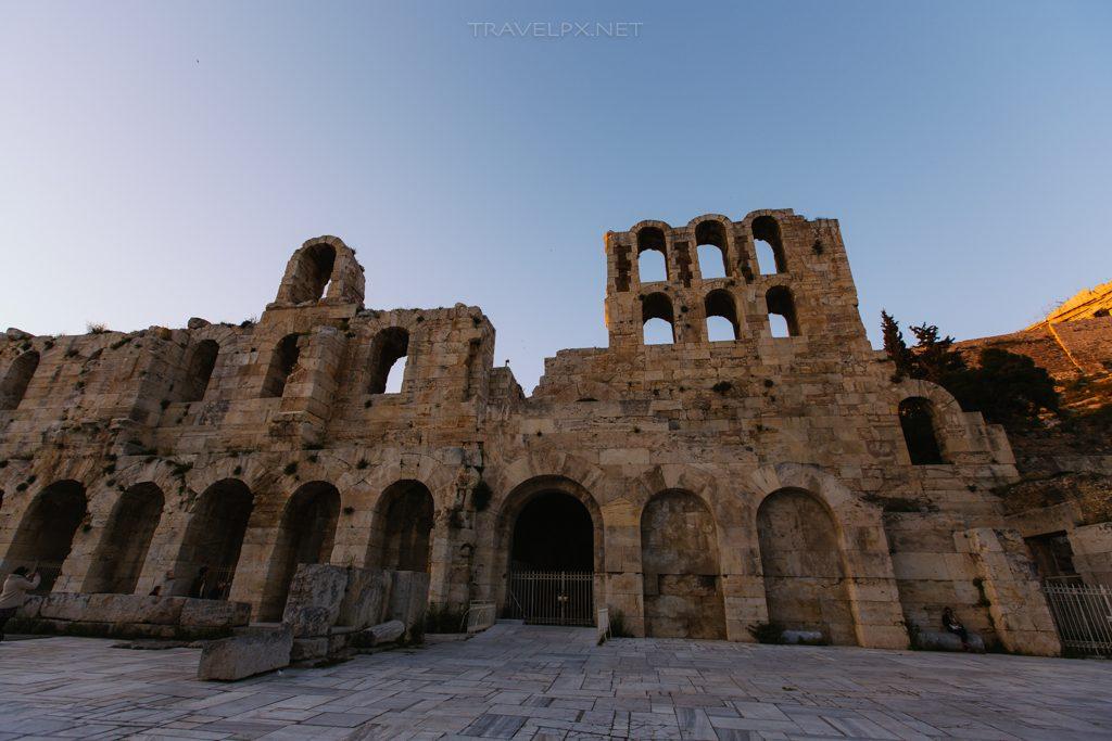 Di tích thời kỳ La Mã trên đồi Acropolis