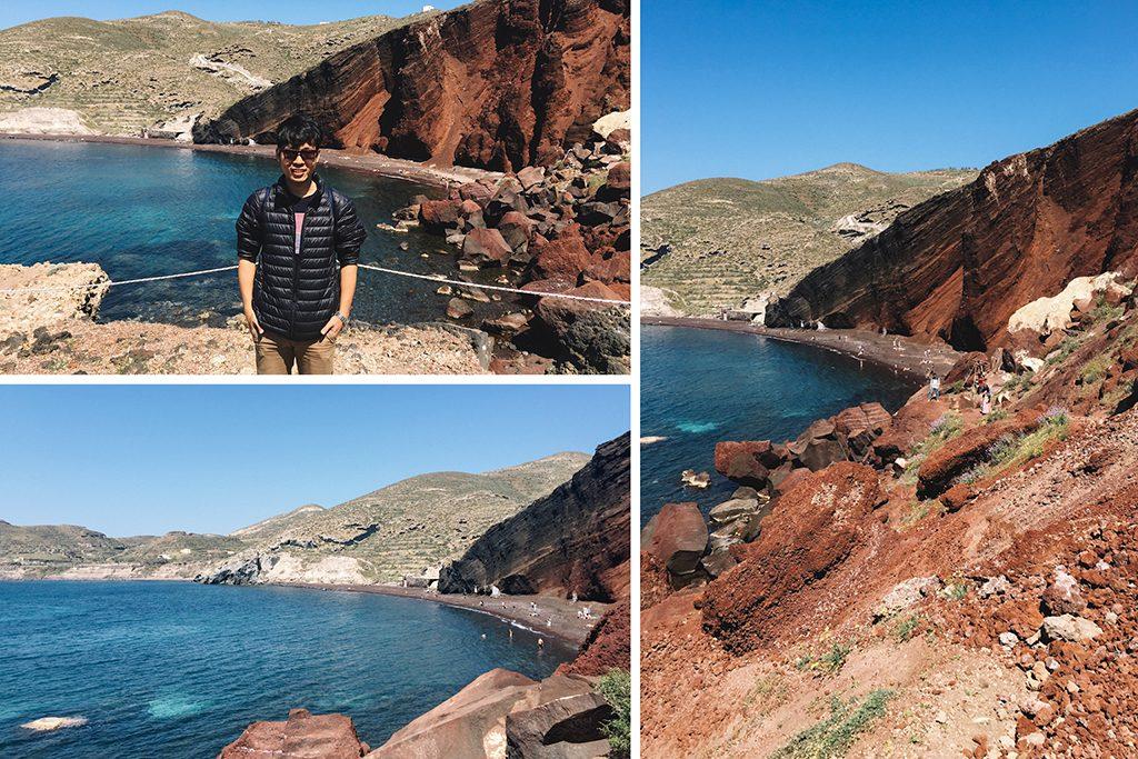 Bãi biển Santorini