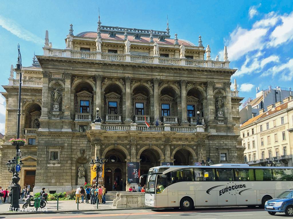 Hungarian State Opera - nhà hát Opera Hungary
