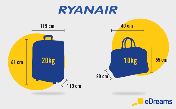 Kích thước tối đa hành lý