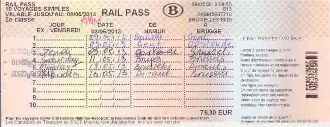 Rail Pass - Ảnh: Subcribe.ru