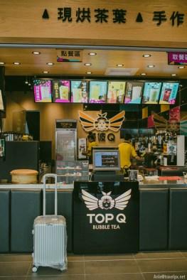 Cửa hàng Top Q ở Tainan