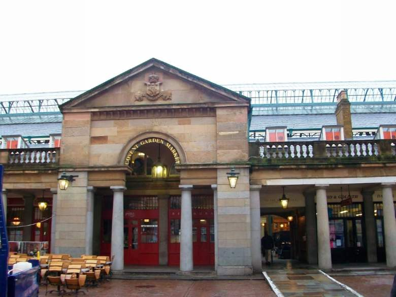 mercados irresistíveis pela Europa Covent Garden, Londres