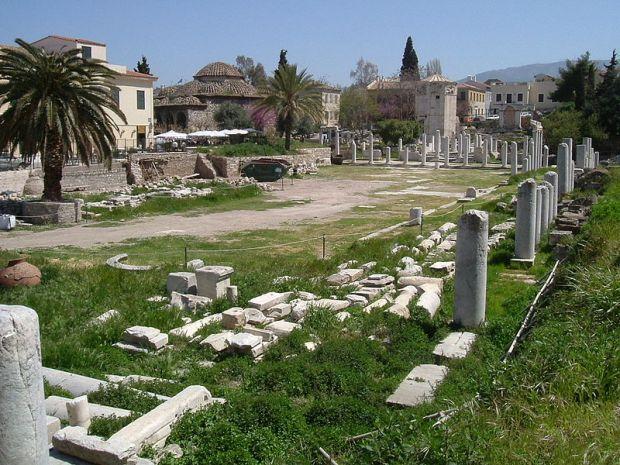 Atenas_Agora Romana1